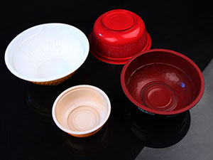 bowl-two color-hollow base