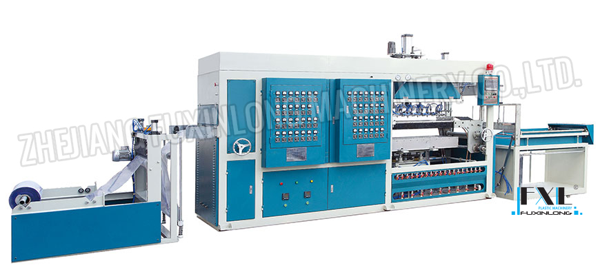 FJL-700/1200ZK SERIES Hi-speed vacuum forming machine