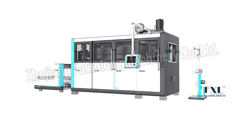 FJL-SZ SERIES Automatic Four-Pillar Hydraulic Plastic Thermoforming Machine