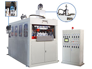 FJL-660SB SERIES Automatic Two-Pillar Hydraulic/CamPlastic Thermoforming Machine